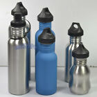 Cycling Stainless Steel Drinking Water Bottle Flask Running Sports Gym Hiking