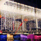 600 LED Curtain Fairy String Lights Lamp Christmas Xmas Wedding party decor 6x3M