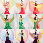 New Belly Dance Professional Performance 360° Gradient Colors Isis Wings 9 color
