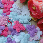 Butterfly Appliques Padded Sewing Scrapbooking Trim Craft New Color Choice