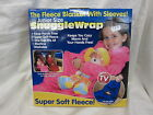 PMS JUNIOR SIZE FLEECE BLANKET WITH SLEEVES (3 COLOURS)