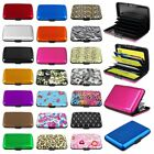 Color Business New Aluminum ID Credit Card Wallet Case Holder Metal