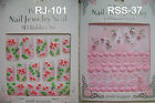 Perfect nail Jewelry seal 3D Rubber Art ( Nail Sticker ) Made In Japan(RJ-RSS)