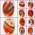 "40mm Agate oval focal flatback cab cabochon jewelry making 1 1/2"" All photoed"