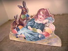Assorted Easter Baby Bunny Rabbit by Audreys 4 Styles Wood w Easel