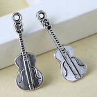 20pcs Tibetan Silver Guitar Charms Pendants Tibet Jewelry Findings KP0549