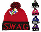 SWAG Bobble Beanie Hat, Designer Pom Pom Hats Beanies, Limited Edition