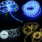12m LED Rope Light Ribbon Strips Roll Garden Decking Mood Lights Ropelight New
