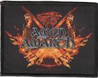 AMON AMARTH Official LICENSED Sew-on WOVEN PATCH