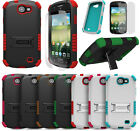 RUGGED TRI-SHIELD CASE STAND SCREEN PROTECTOR FOR SAMSUNG GALAXY EXPRESS i437