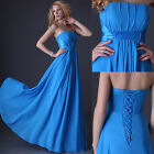 FREE SHIP Lady's Bridal Wedding Evening/Formal/Ball Gown/Party/Prom Long Dresses