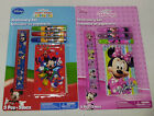 DISNEY STATIONERY SET 5-PIECE MICKEY MINNIE MOUSE STOCKING PARTY BAG FILLER GIFT