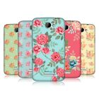 HEAD CASE DESIGNS NOSTALGIC ROSE PATTERN CASE COVER FOR HTC ONE X