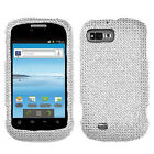 For ZTE Valet Z665c Crystal Diamond BLING Case Snap On Phone Cover Accessory