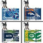 Choose NFL Team 26oz Stainless Steel Water Bottle with Hi-Def Metallic Graphics