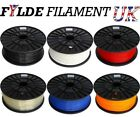 2 x 1kg Reel 3D Printer PLA 3mm Plastic Filament - New Colours!