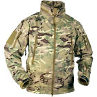 HELIKON TACTICAL MENS GUNFIGHTER SOFT SHELL HUNTING JACKET AIRSOFT TOP MTP CAMO