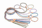 Alvalley Nylon Slip Lead with Stop for Dogs 4mm X 4ft, Multicolors