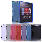 "S Shape Soft TPU Rubber Skin Case for New Amazon Kindle Fire HDX 7"" 2013 Model"