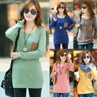 Casual Loose Crew Neck Womens Long Sleeve Knitwear Pullover Jumper Sweater O