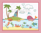 Under the Sea-Ocean Animals.Kids-Baby-Nursery Art Prints.Wall Decor.Whale.Fish