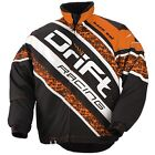 Drift Racing 2014 Men's Qualifier Snowmobile Jacket - Orange - 5245-03_
