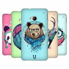 HEAD CASE DESIGNS FAUNA HIPSTERS CASE COVER FOR FOR HTC ONE