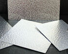 0.8mm STUCCO Decorative Aluminium Guillotine Cut Sheet - Sheet Metal TIG Rivit