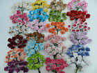 x72 Paper Tea Roses/Flowers - Weddings, Favours, Card Making