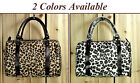 Stylish Leopard Print Hobo Shopper bag Casual Travel Street Handbag New Satchel