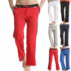 Mens Jogging Joggers Casual Home Sports Trousers Pants Rope Long 6 Colors 3 Size
