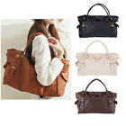 Women Lady OL Fashion PU Leather Big Capacity Tote Handbag Shoulder Bag 4 Colors