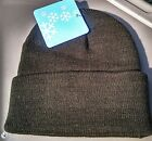 Adult Winter Hat Beanie Cap - Blue or Black Large or Small