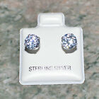 Hypoallergenic Earrings For Sensitive Ears CZ 925 Sterling Silver