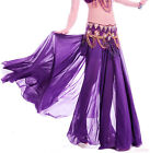 New Sexy Belly Dance Costume 2-side slits Skirt/Dress 12 colours