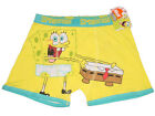 NEW SPONGEBOB SQUAREPANTS COTTON BOXER BRIEF TRUNK NO FLY UNDERWEAR M, L