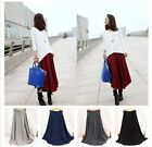14 New Women's Long Sexy Dress Slim Fit Over Hip Maxi Skirts Casual Cotton Dress