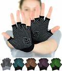 Внешний вид - Mato & Hash Yoga Pilates Fingerless Exercise Grip Gloves