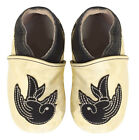 Tattoo Baby Sourpuss Crib Shoes Punk Rockabilly Sparrow Swallow Kids 0-6 Months