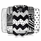 HEAD CASE DESIGNS BLACK AND WHITE DOODLE PATTERNS CASE COVER FOR NOKIA LUMIA 610