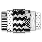 HEAD CASE DESIGNS BLACK AND WHITE DOODLE PATTERNS CASE COVER FOR NOKIA LUMIA 720