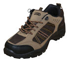 Mens New Black Khaki Brown Hiking Boots Trail Walking Trainers Shoes Lace Up Red