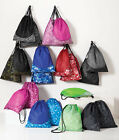 PEACHES PICK - Drawstring Cinch Pack, Sport Tote, Gym Bag, Dance, Swim, a612