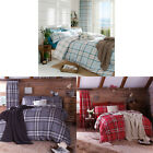 Catherine Lansfield Home Kelso Tartan Check Duvet Cover Set