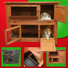 4FT RABBIT HUTCH / GUINEA PIG RUN / DELUXE PET HUTCHES / FERRET CAGE PETS HOUSE