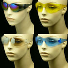 HD NIGHT DRIVING VISION SUNGLASSES GLASSES YELLOW SAFETY Z87.1 SHOOT NEW MP32
