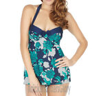 Panache Swimwear Page Halter Neck Skirted Swimsuit Floral NEW SW0670 Select Size