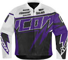 New womens ride icon hooligan spaztyk purple motorcycle biker street jersey