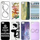 Hakuna Matata Retro Tribal Hard Best Back Cover Case For iPhone 4 4S 5 5S 5C