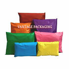 Coloured Postage Poly Plastic Mailing Postal  Post Bags Strong Self Seal Strip